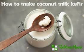 kefir. coconut milk kefir recipe