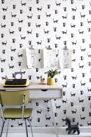 Hd Vliesbehang Katjes Zwart En Wit Op Een Mileuvriendelijke Vlies