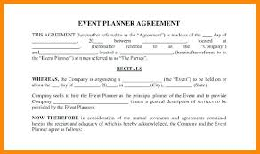 Event Planning Services Agreement Event Contract Template Download Documents In Private