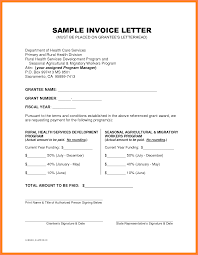 example invoice letter invoice example  related for 3 example invoice letter