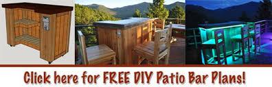 diy patio bar plans. Fine Bar Patio Bar Plans  Concrete Counter And Cedar Base In Diy