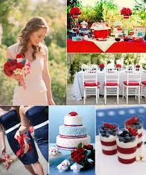 tbdress blog start out your wedding having a slapdash 4th of july Ideas For July 4th Summer Wedding would like to possess your wedding reception on 4th of july wedding ideas 4th of July Wedding Centerpieces