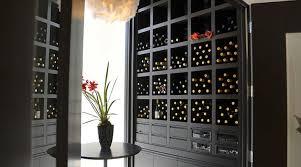 built in wine racks black wine cabinet68