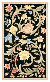 hand hooked rugs rug black traditional area by claire murray kits definition hand hooked rugs