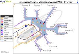 Amsterdam Schiphol Airport Eham Ams Airport Guide