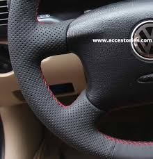 steering wheel cover for vw passat b5 and golf mk4 hand sewn