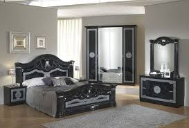 italian white furniture. black italian high gloss bedroom furniture set white t