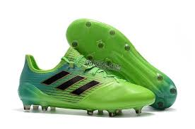 adidas ace 17 1 leather fg light yellow black green 0
