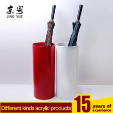 umbrella stand holder. Contemporary Stand Single Round Colorful Pmma Umbrella Stand Holder Bin Acrylic For Umbrella Stand Holder L