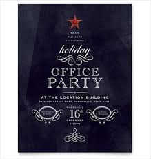 Holiday Party Flyer Template Faveoly