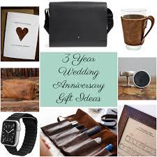 3 year anniversary gift ideas