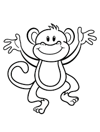 Small Picture Printable Monkey Color Pages 28 For Your Images with Monkey Color