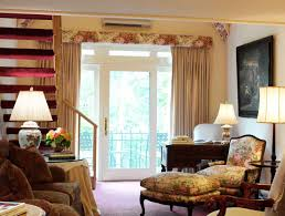 Primitive Curtains For Living Room Country Style Curtains For Living Room Living Room Design Ideas