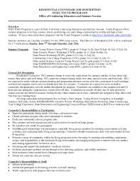 Resume Template Residential Counselor Resume Sample Best Sample