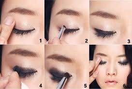 simple tapi cantik cara bermake up yang cantik ala bintang korea secara alami dan sederhana cara memakai eyeshadow yang cara makeup simple you