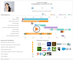 Tableau Sample Resumes How to Create an Interactive Resume in Tableau Tableau Public 50