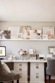 Decorate home office White White Decorating Ideas For Small Home Office Designs Lushome Black And White Decorating Ideas For Home Office Designs