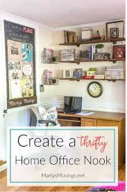 home office nook. Create An Organized And Thrifty Home Office Nook In Your With These Simple Tips On R