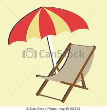 chair drawing easy. beach chair on light yellow background drawing easy