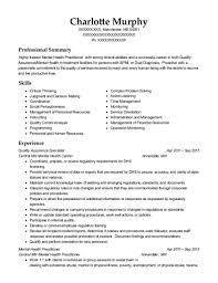 Best Mental Health Practitioner Resumes Resumehelp