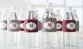 waterbottle labels water bottle label template free