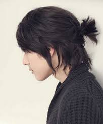 Asian Hair Style Guys mens ponytail hairstyle 6062 by stevesalt.us