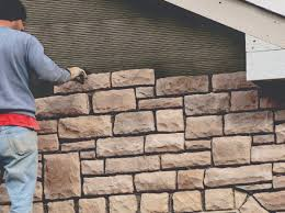 instead thin brick veneer is installed to the exterior wall substrate