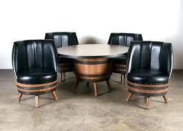 whiskey barrel chairs whiskey barrel chairs for whiskey barrel chairs vintage whiskey barrel dining set