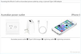 charging the iphone 5 in australia Australian Electrical Plug Diagram powering the iphone 5 with an australian power outlet by using a 3 pinned type i australian power plug diagram