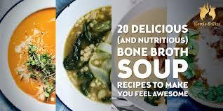 bone broth soup recipes