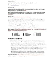 Stunning Design General Objectives For Resumes   General Career     Resume CV Cover Letter