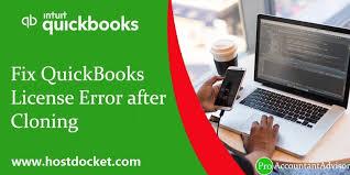 fix quickbooks license error after the