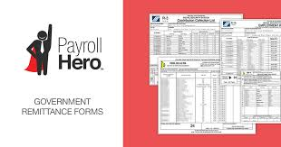 Payment Remittance Template Cool Philippine Government Remittance Forms