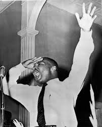 when the civil rights movement became a casualty of war vietnam a young martin luther king jr addresses an overflow crowd in during the early
