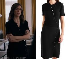 Billions: Season 5 Episode 1 Wendy's Knit Button Dress | Shop Your TV