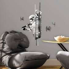 star wars the force awakens stormtrooper wall decals on star wars wall art stickers with star wars the force awakens stormtrooper wall decals roommates