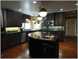 What Color To Paint Kitchen With Dark Cabinets Best Design Inspiration