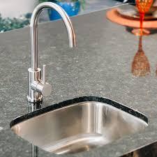 stainless steel undermount sink. Summerset 18 X 15 Stainless Steel Undermount Sink W/ Single Handle Hot/Cold Goose F