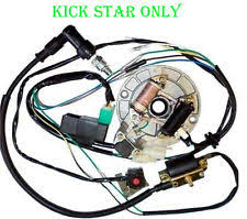 125cc stator parts accessories lifan stator kick 125cc 140cc complete electrics wire harness pit dirt bike atv