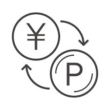 お金とポイント交換のアイコン素材 無料のアイコンイラスト集 Icon Pit