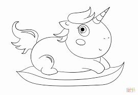 Unicorno Da Colorare Per Bambini Disegno Di Ippopotamino Da