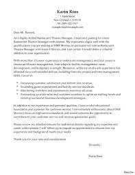 How To Make A Resume For A Restaurant Job Cover Letter Sample Resume For Restaurant Server Templates Letters 62