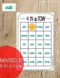 Magic E Bingo - Playdough To Plato