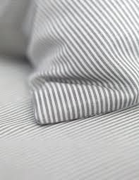 um image for grey stripe duvet cover uk gray ticking stripe duvet cover grey and white