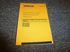caterpillar 3406e manual caterpillar cat c10 c12 3406e c15 c16 truck engine owner operator manual book