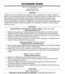 94 Criminal Justice Resume Examples In District Of Columbia Livecareer