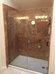 large size of walk in shower open walk in shower new bathtub cost average cost