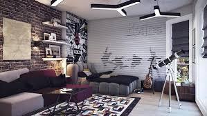flair design furniture. brick wall teenage room decal flair design furniture a