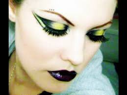 subculture series cyber goth makeup tutorial