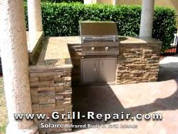 outdoor bbq grills. Custom Outdoor Kitchen Pictures With Solaire Infrared Built In Gas BBQ Grills - YouTube Bbq